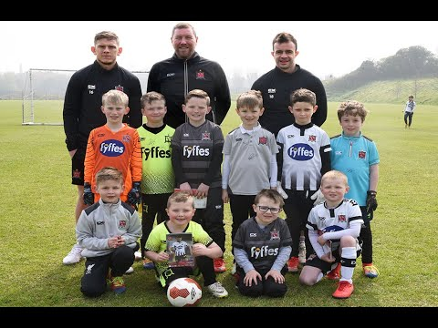 DFCTV Easter Camp player visit