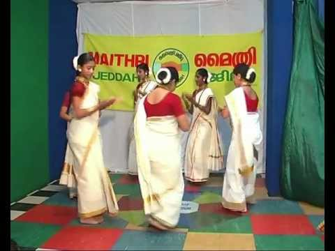 Lincy Baby  Maithri Jeddah  April-2011  Thiruvathira- Parvanenthu Mukhi.mp4 video