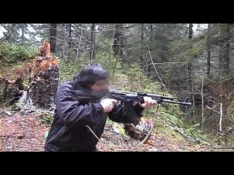 Saiga AK 47 conversion Test
