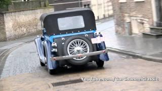 Bugatti Type 44 - drive by!! 1080p HD