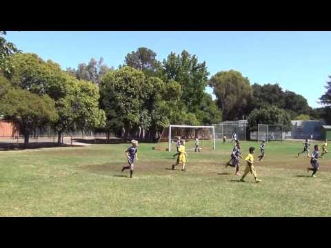 CV U9 Boys gold soccer v Palo Alto @ Palo Alto Cubberley