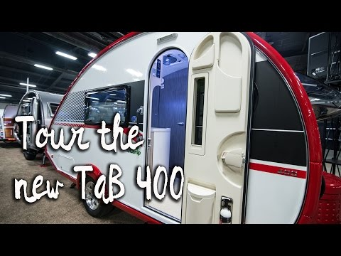 Vlog #9: The T@B 400 and other Tiny Trailers