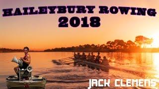 Haileybury 1st VIII Rowing 2018