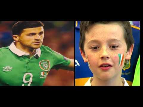 Johnny B & Gortnahoe N.S. Shane Long Song (live)