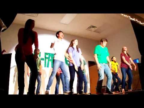 10th grade Evolution of Dance Oconee Christian Academy - 03/24/2013
