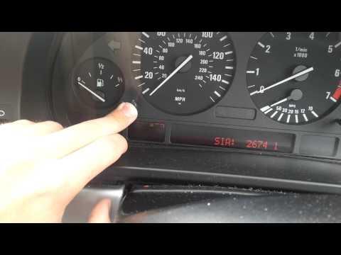 E39 530i (2002) Service light won't reset