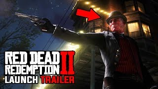 Red Dead Redemption 2 Official Launch Trailer Full Breakdown, Story Speculation & Main Villain?!