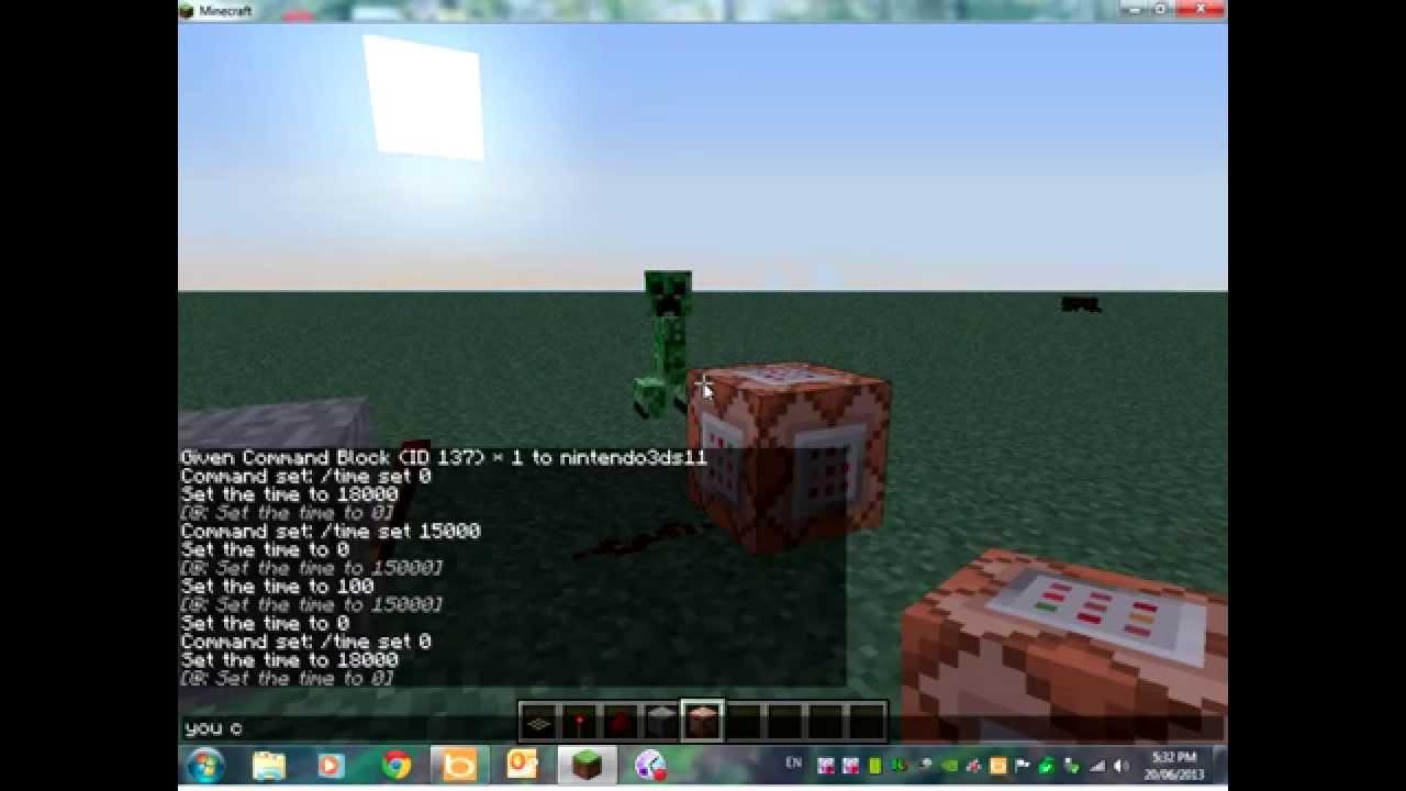 Minecraft Automatically Set