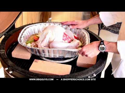 How to Smoke a Turkey on Kamado Grill