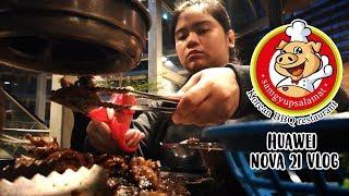 Samgyupsalamat in Makati   Huawei Nova 2i Vlog