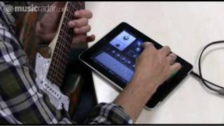 IK Multimedia AmpliTube for iPad in action