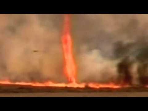 wow keren Api Tornado Buatan