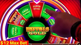 Wonder 4 Jackpots Slot Machine SUPER BIG WIN - $12 Max Bet Super Free Games | SE-3 | EP-4
