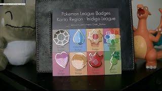 Real Life Pokemon League Badges From The Kanto Region - Indigo League