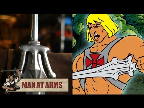 Forging He-Man's Sword (Masters of the Universe) - MAN AT ARMS