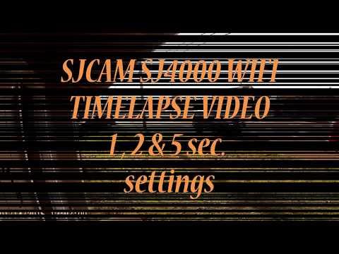 SJCAM SJ4000 Wi-Fi Time lapse test