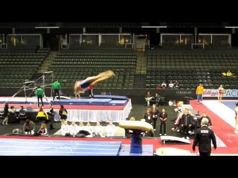 Kyla Ross - 2012 Kellogg&#039;s Pacific Rim Championships Podium Training - Vault