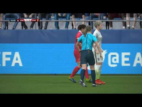 FIFA 16 - USA vs. China Women's International Friendly Gameplay