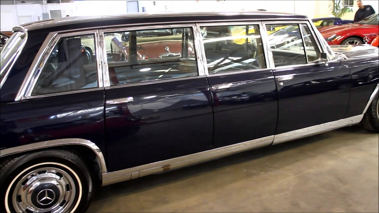 1967 Mercedes Benz 600 6 Door Pullman For Sale Youtube