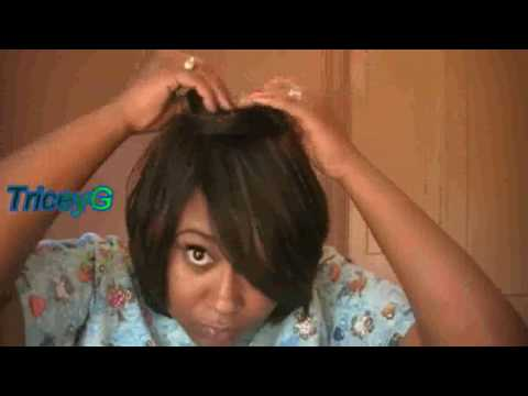 Another Duby wig/quickweave cut in Bob {Protective Style}