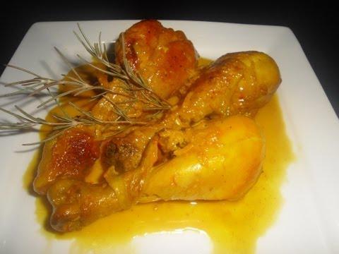 Muslitos de Pollo al Ajillo - TuCocinaEnCasa Recetas de cocina