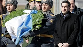 What will Greek PM walk away with after Kremlin meeting?