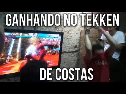 Ganhando no Tekken de Costas