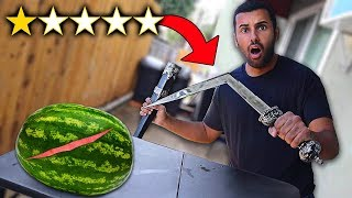 I Bought The WORST Rated WEAPONS On Amazon!!! (1 STAR)