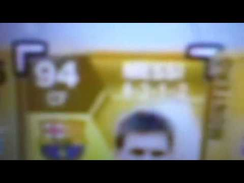 Fifa 13 Messi opening gold pack!!!