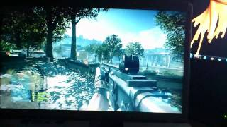 Battlefield 3 on a Sony Vaio