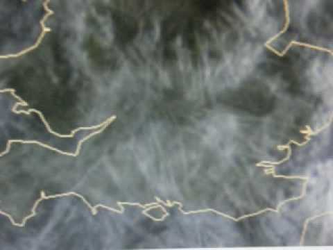 Live Satellite Images Of Geoengineering? Over The Uk October 13th 2009