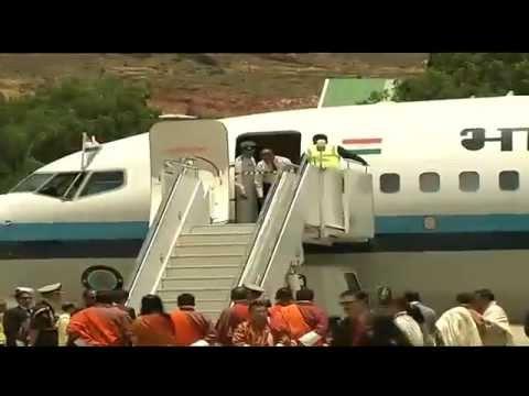 Prime Minister Narendra Modi Visits Bhutan