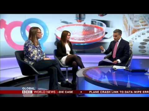 BBC World News: Sarah Dickinson on women in science