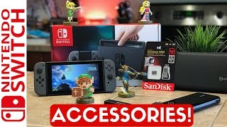 5 MUST BUY Nintendo Switch Accessories! #NintendoSwitch