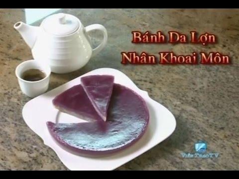 Banh Da Lon Nhan Khoai Mon - Xuan Hong