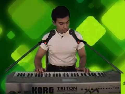 My Name is Khan - Tere Naina - Singing & Piano Playing by Debasish...
