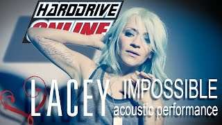 LACEY STURM performs IMPOSSIBLE acoustic at hardDrive Radio Studios