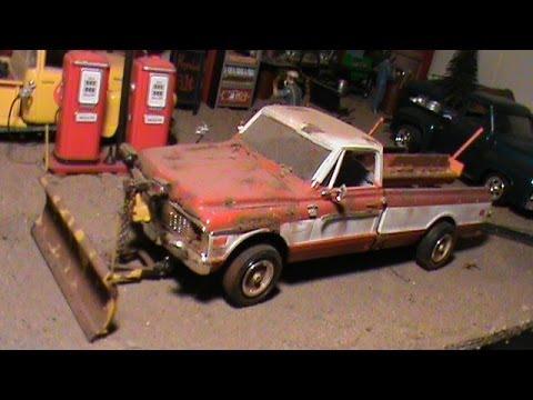 Model Car Garage Diorama Model Car Diorama 1/25 Scale