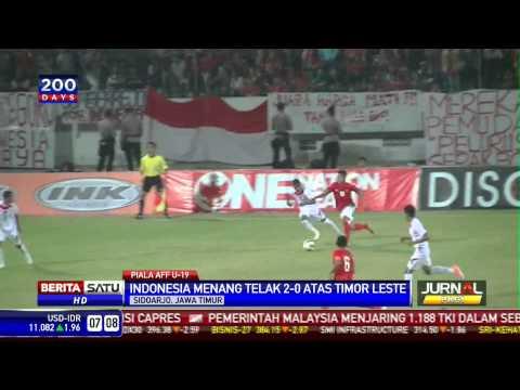 Indonesia Menang Telak atas Timor Leste 2-0