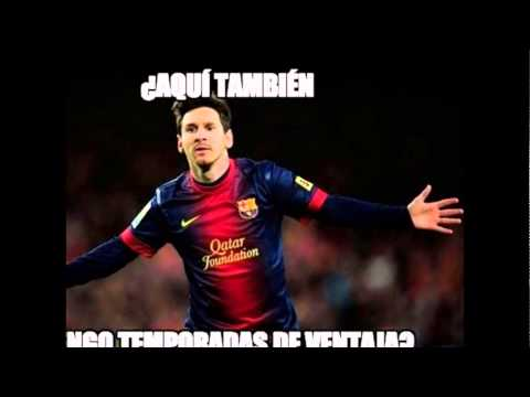 Memes, Messi, máximo goleador histórico de la Champions League