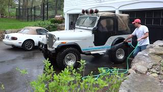 Buying a BARN FIND 1979 Jeep CJ5 and what it took to get it home.