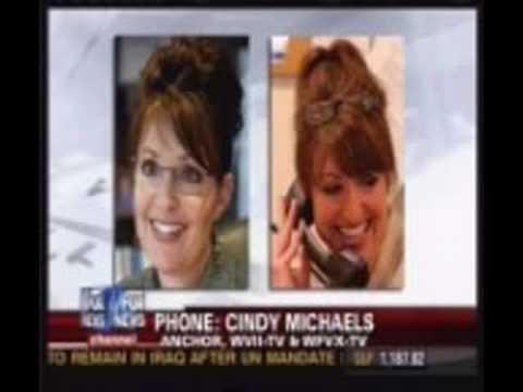 Sarah Palin Lookalike Fox Anchor Cindy Michaels