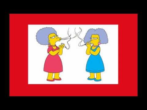 Patty and Selma- We Love To Smoke, The Simpsons