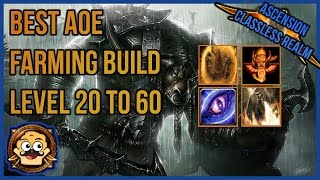 WoW Ascension - AoE Grind Build for Leveling and Endgame Gold Farming