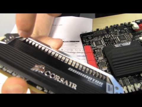 Corsair Dominator Platinum DDR3 RAM Gaming Memory Unboxing & First Look Linus Tech Tips
