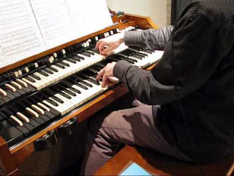 A Whiter Shade of Pale; the organ part