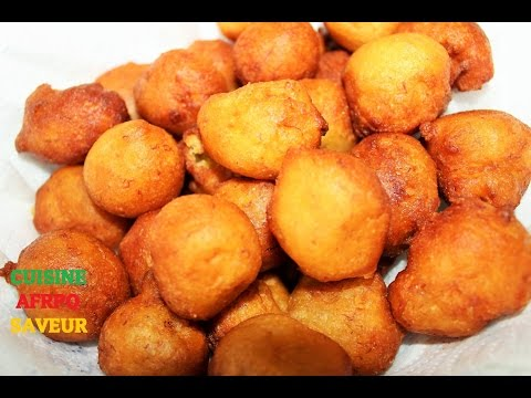 Beignets Africains (recette Facile Et Rapide)