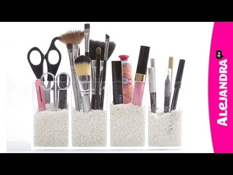 Organize Your Makeup: How to Organize Cosmetics in the Bathroom