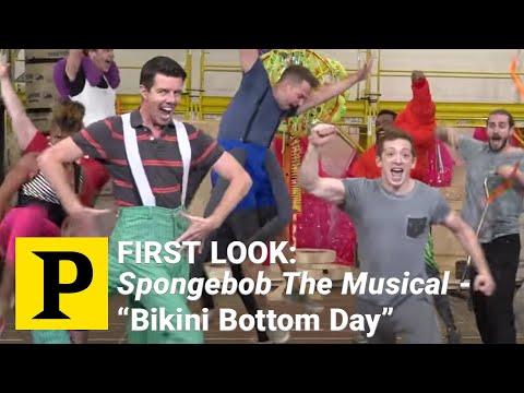FIRST LOOK: Spongebob The Musical  - 'Bikini Bottom Day' thumbnail