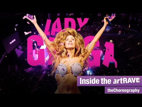Lady Gaga Inside the artRAVE: theChoreography (Episode 1)